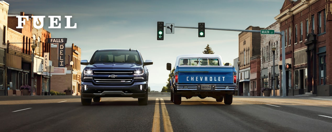 Chevrolet Performance Fuel Newsletter Features A Ride Down Memory Lane With A Century Of Chevy Trucks.