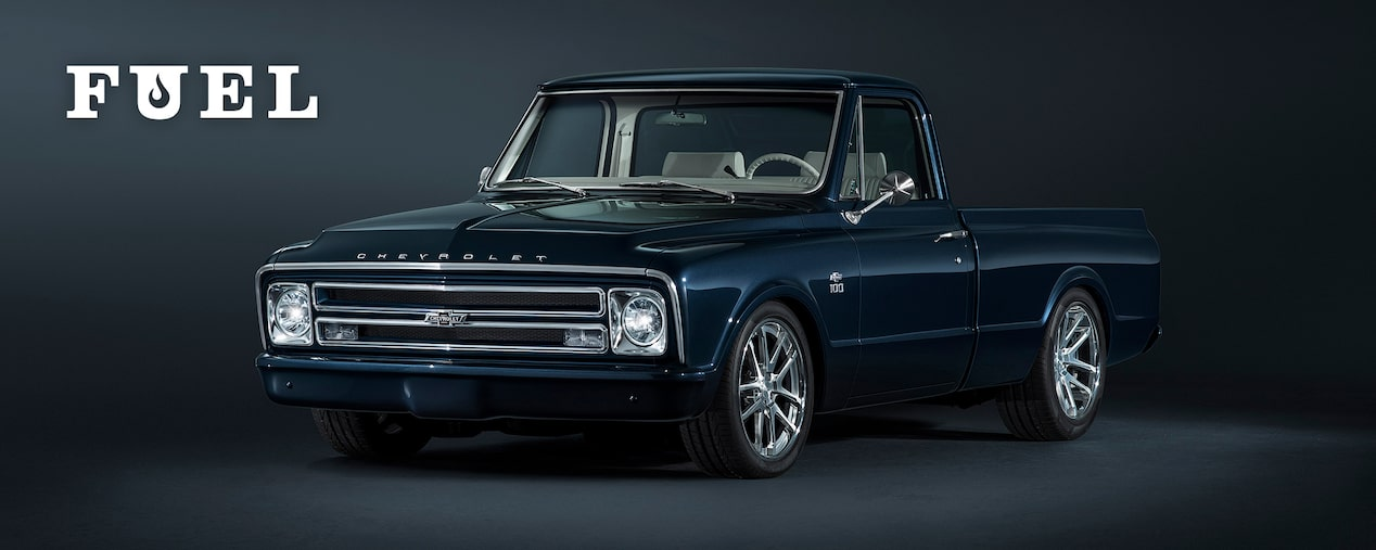 Chevrolet Performance Fuel Newsletter Features A Custom Chevy C10 Pickup With A Turn-Key Crate Engine.