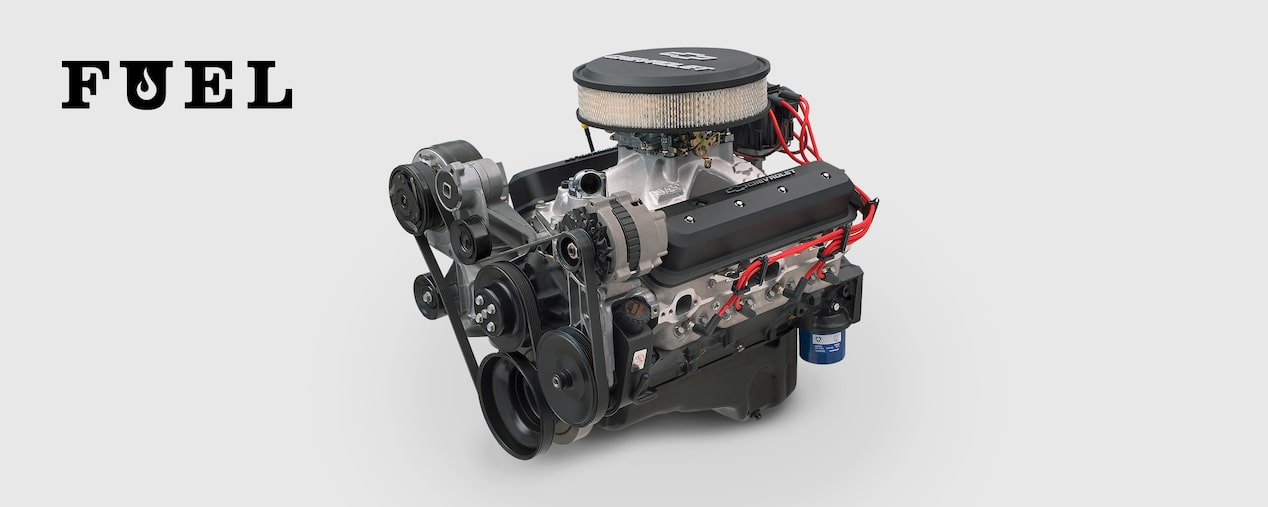 Chevrolet Performance Fuel Newsletter Features The 405-HP ZZ6 Turn-Key Crate Engine.