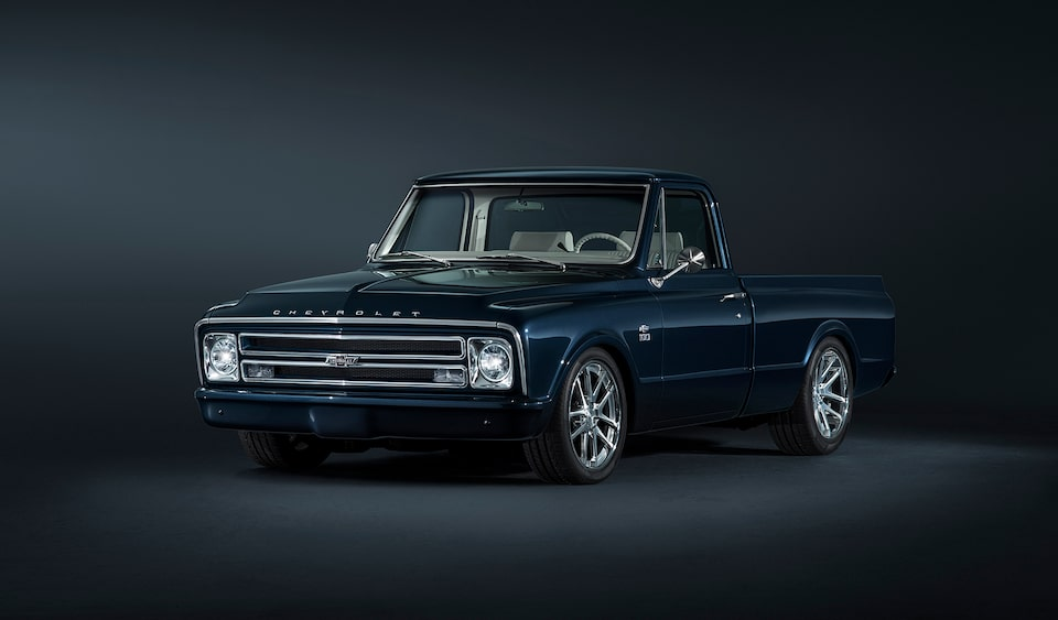 Chevrolet Performance Featured Car Of The Month Is A Custom Chevy C10 Pickup Truck With A ZZ6 Turn-Key Crate Engine.