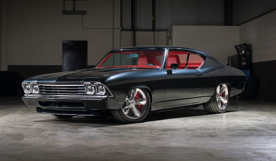 Chevrolet Performance unveils a custom 1969 Chevelle Slammer restomod