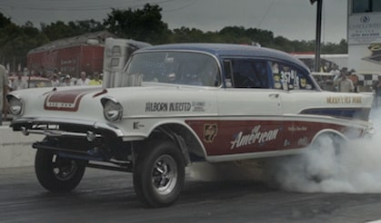 The 2017 '57 Chevy Gasser Giveaway  Car And The Danchuk Tri - Five Nationals Featured At Chevrolet Performance.