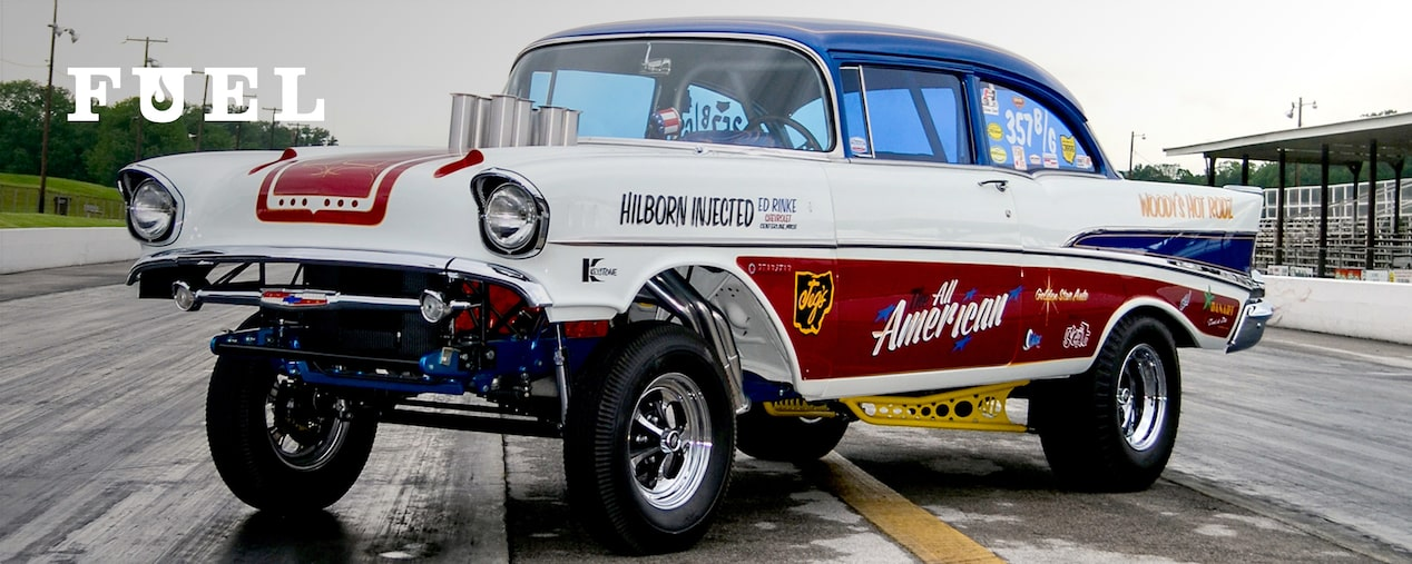Chevrolet Performance Features The 2017 Danchuk Tri-Five Nationals Golden Star '57 Chevy Gasser Giveaway Car