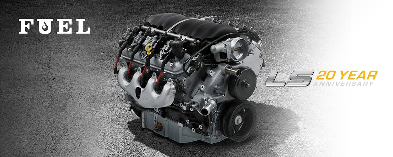 Chevrolet Performance Celebrates The 20th Anniversary Of The LS Crate Engine