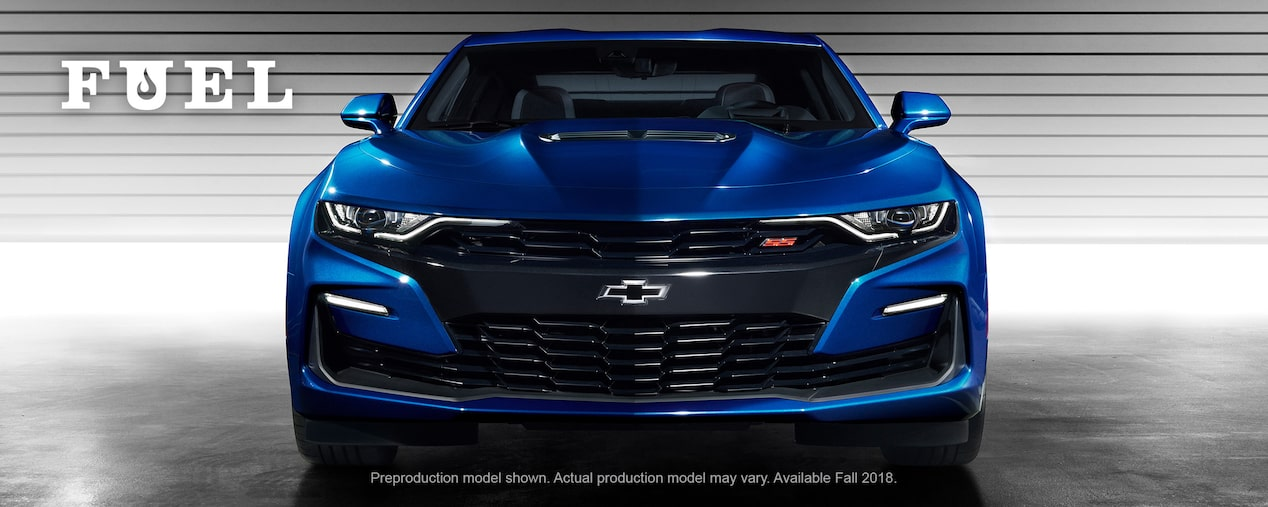 Chevrolet Performance Fuel Newsletter Features The 2019 Chevy Camaro Now Available With A Turbo 1LE Option.