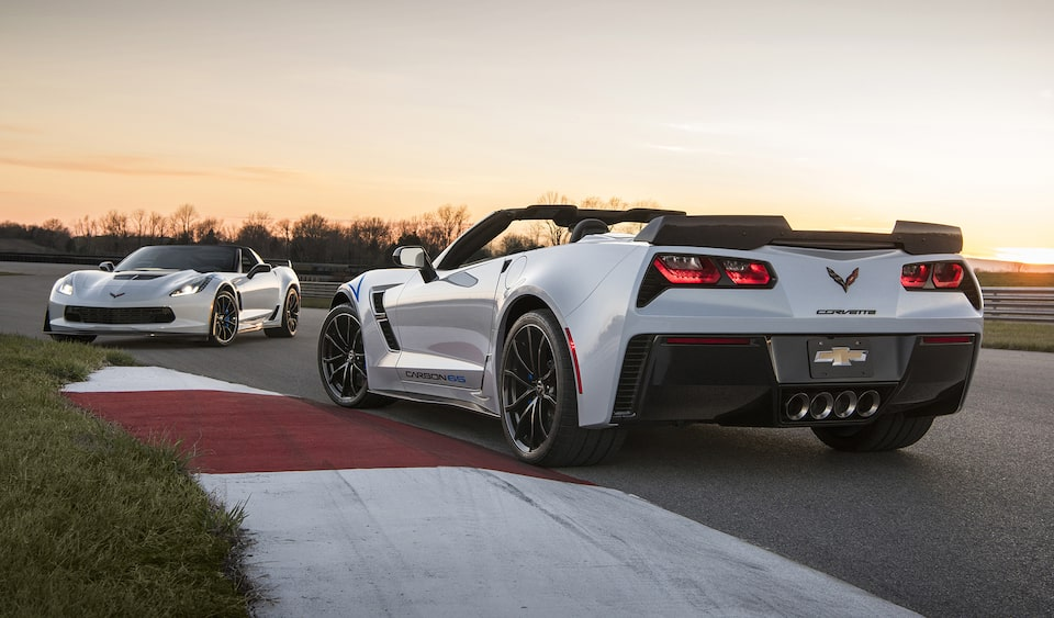 Chevrolet Performance features the new 2018 Chevy Corvette Carbon 65 Edition