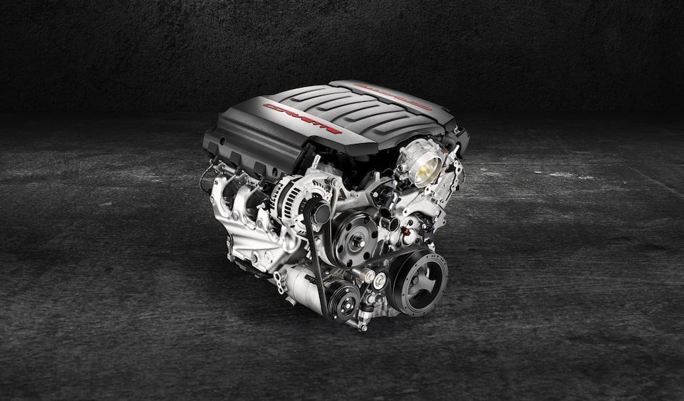 Chevrolet Performance features the 460 Horsepower LT1 Small-Block Crate Engine