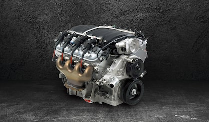 Chevrolet Performance 505-HP 7.0L LS7 Racing Crate Engine P/N: 19329246