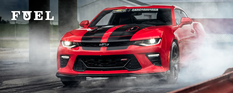 Chevrolet Performance Fuel Newsletter Features A Track-Ready Gen 6 Camaro SS With WELD Wheels And Brake Upgrades.