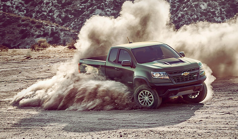 Chevy Colorado ZR2 Off-Road Truck from Chevy Performance