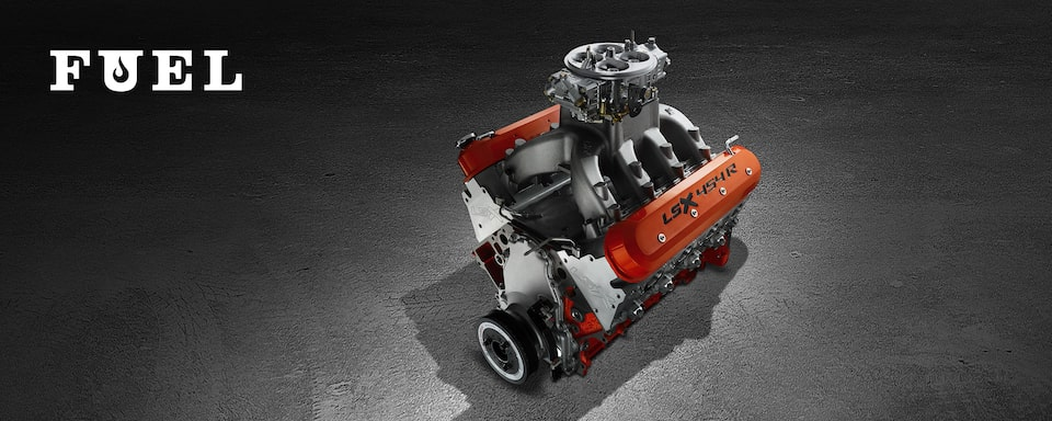 LSX454R Crate Engine from Chevy Performance
