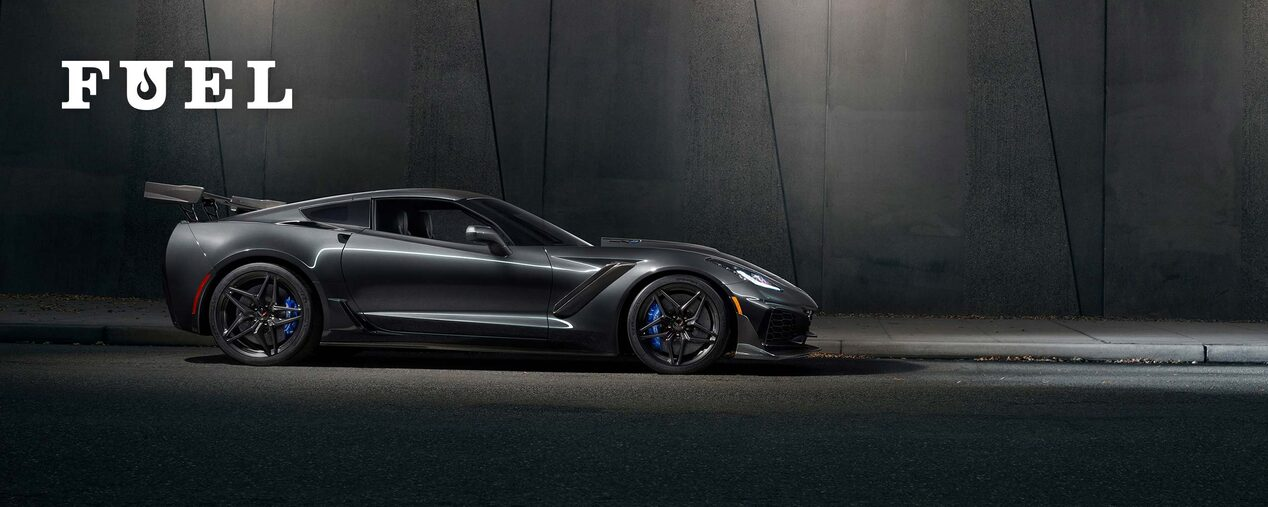 Chevrolet Performance Fuel Newsletter Features The New 2019 Chevy Corvette ZR1.