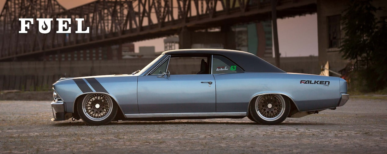 Chevrolet Performance Fuel Newsletter Features Ken Kelly's '66 Chevelle From The Hot Rod Power Tour.