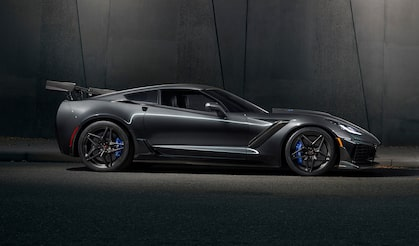 The New 2019 Chevy Corvette ZR1 Featured At Chevrolet Performance