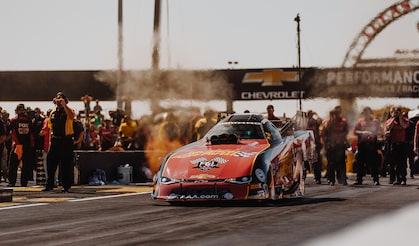 Chevrolet Performance Featured Event Highlights 10,000+ Horsepower Cars From John Force Racing At The US Nationals.