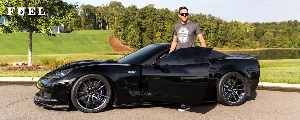 Chevrolet Performance Fuel Newsletter Features Hendrick's Motorsports Driver Alex Bowman And His 2010 Chevy Corvette ZR1.