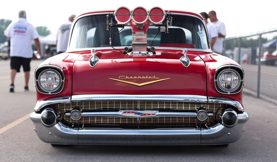 Chevrolet Performance Features A Look Back At The Action From The Tri-Five Nationals In Bowling Green, Kentucky. See What You're Missing.