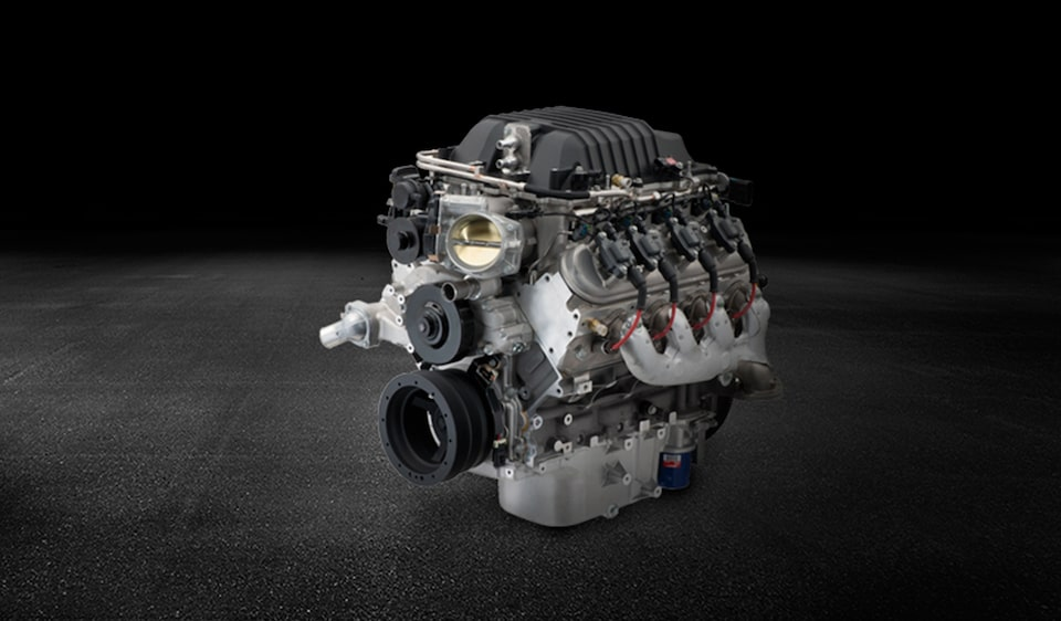 Supercharged LSA Crate Engine from Chevy Performance