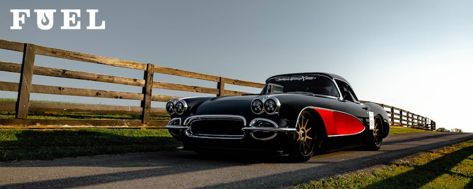 Chevrolet Performance Fuel Newsletter features Nick Weber's LS7-powered 1960 Chevrolet Corvette ZRC1
