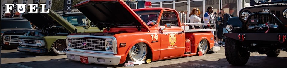 Chevrolet 1971 C-10 Fire Truck with LT4 Crate Engine