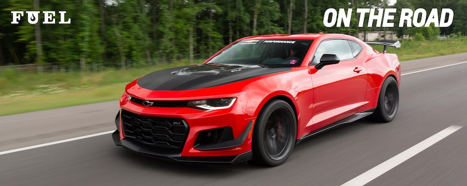 Chevrolet Performance Fuel Newsletter Features The Chevy Camaro ZL1, A Long Hauler On The HOT ROD Power Tour