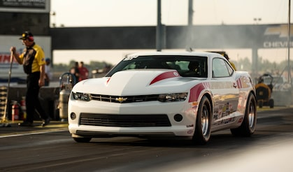 Chevrolet Performance Fuel Newsletter features the 50th Anniversary COPO Camaro Shootout.
