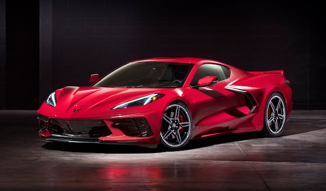 Chevrolet Performance Fuel Newsletter introduces the first ever Mid-Engine Corvette Stingray, available early 2020.