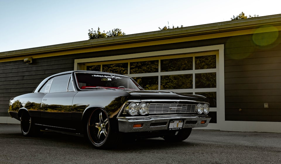Charlie Malone's LT4 Powered 1966 Chevrolet Chevelle Hot Rod Front Side View