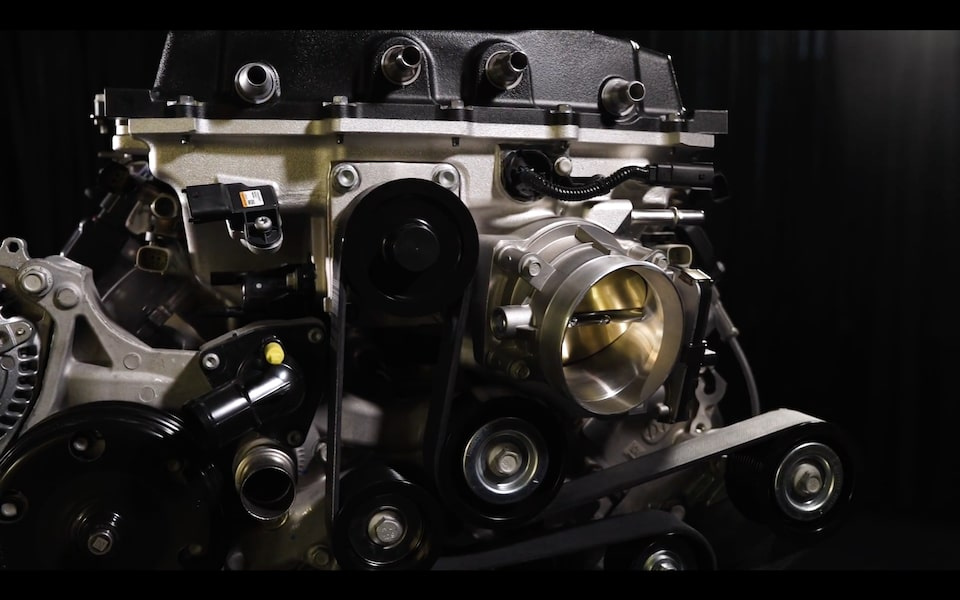 View The Power Behind The Corvette ZR1, The New LT5 6.2L Supercharged Crate Engine Now Available From Chevrolet Performance.