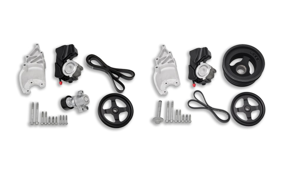 Chevrolet Performance Now Offers An All-New LT1 19417241 and LT4 19417242 Crate Engine Power Steering Kit.