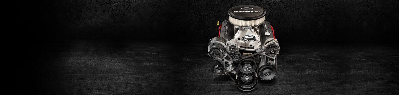 ZZ6 EFI Turn-Key Small Block Crate Engine   Chevrolet