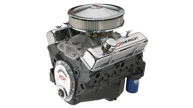350 290 hp small block crate engine chevrolet performance. Black Bedroom Furniture Sets. Home Design Ideas