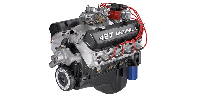 Chevrolet Performance 480-HP ZZ427/480 Crate Engine Part No. 19331572