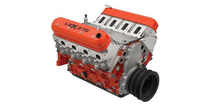 Chevrolet Performance 473-HP LSX376-B15 Crate Engine Part No. 19355575