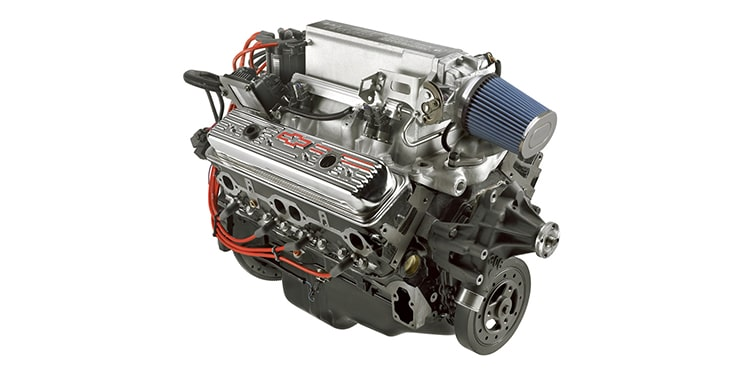 Chevrolet Performance 345-HP Ram Jet 350 Crate Engine Part No. 19355815