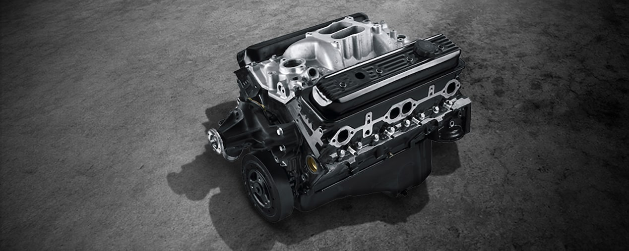 Ht383 small block crate engine chevrolet performance cp 2016 engines detail ht383 masthead malvernweather Image collections