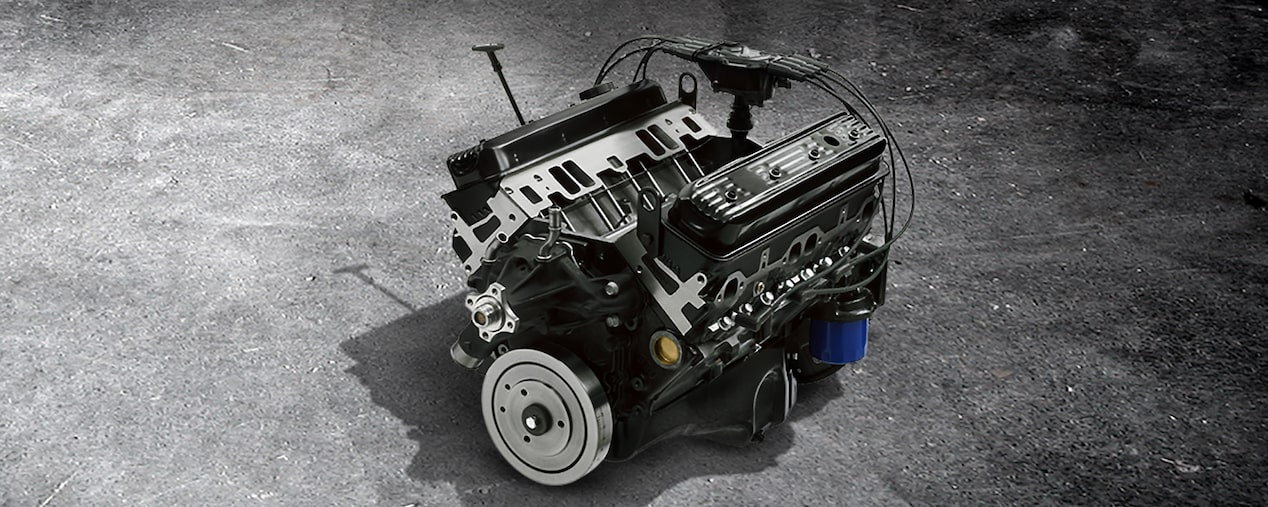 HT383E Small Block Crate Engine | Chevrolet Performance