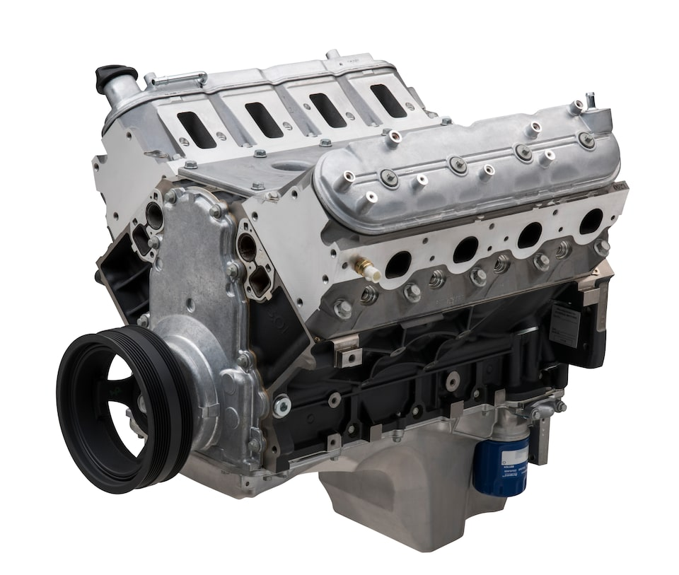 Chevy Performance LS364/450 Long Block Engine