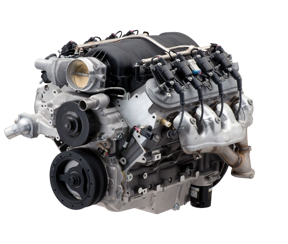 Chevrolet Performance L5427-570 LS Crate Engine Specs