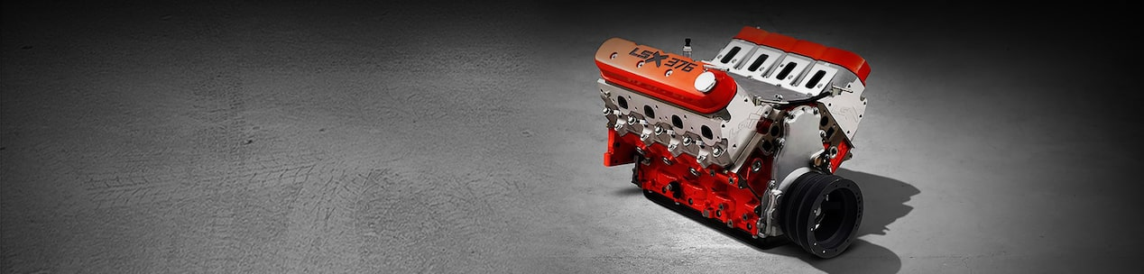 LSX 376-B15 Crate Engine - Race Engine | Chevrolet Performance