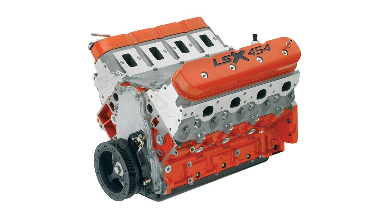 LSX 454 Crate Engine - Race Engine | Chevrolet Performance