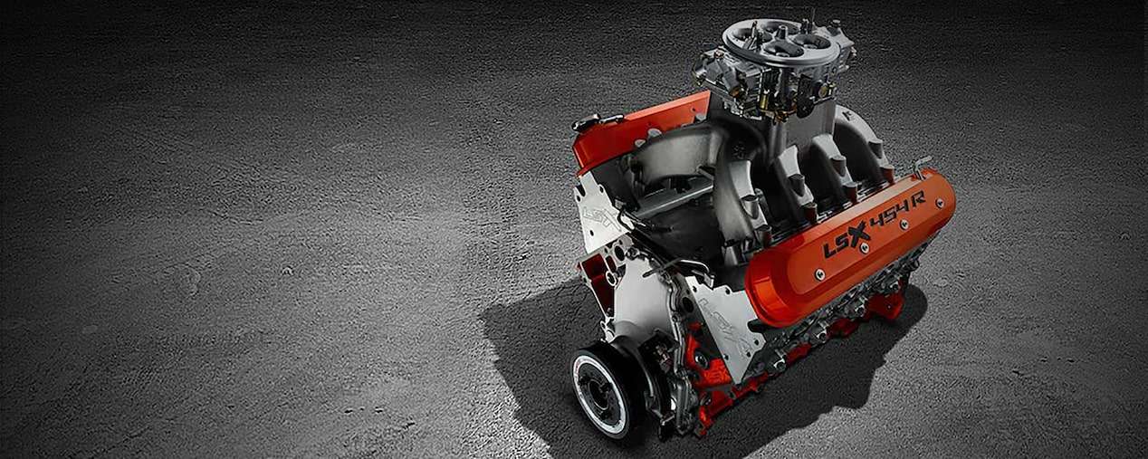 LSX 454R Crate Engine - Race Engine | Chevrolet Performance