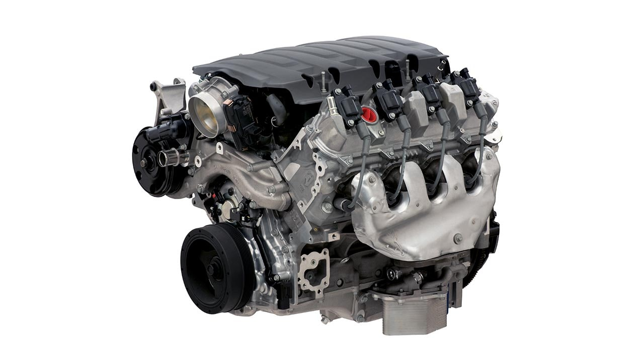 LT1 Wet Sump 6 2L Small Block Crate Engine | Chevrolet Performance
