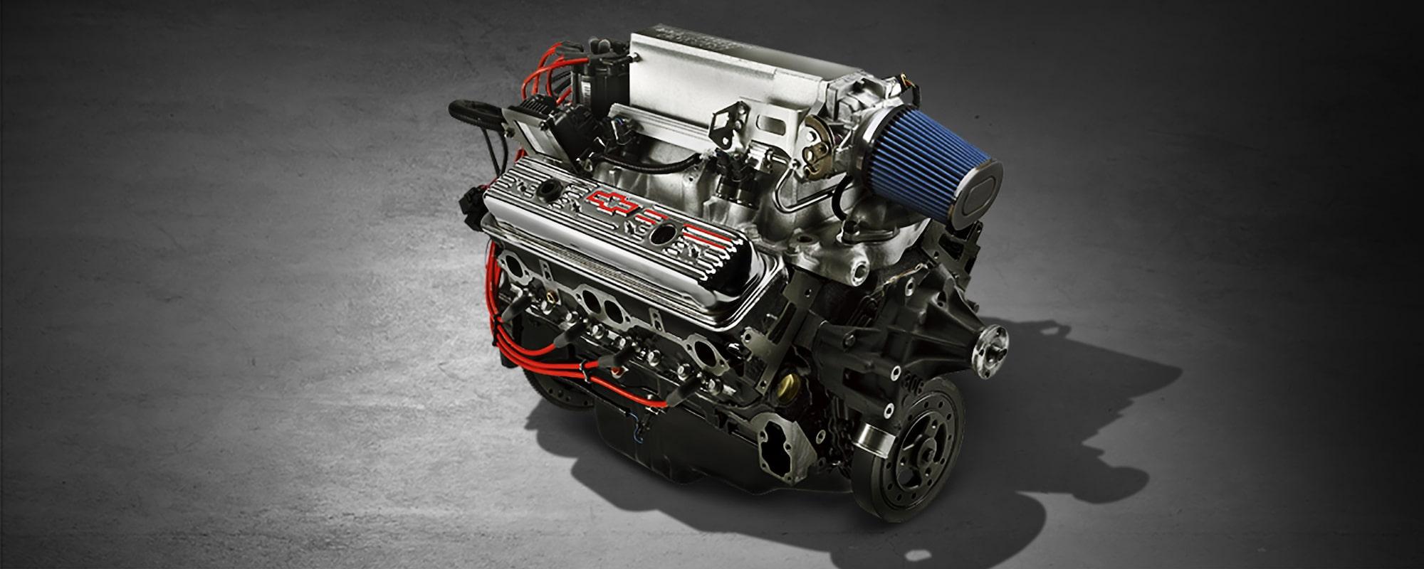 350 Chevy Ramjet Motor Wiring Diagram Diagrams 1989 Alternator Ram Jet Small Block Crate Engine Chevrolet Performance Rh Com