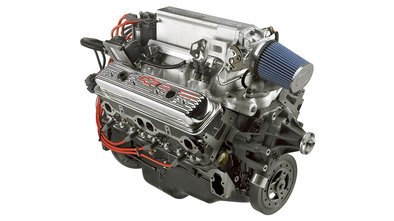 Ram Jet 350 Small Block Crate Engine | Chevrolet Performance]