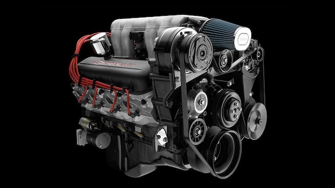 Ram Jet 502 Big Block Crate Engine | Chevrolet Performance Ramjet Zl Wiring Diagram on