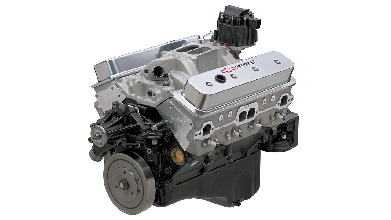 SP350/385 Base Small Block Crate Engine | Chevrolet Performance