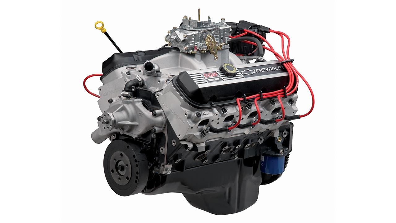 Zz502 Deluxe Big Block Crate Engine Chevrolet Performance V6 Vortec Diagram Spark Plug