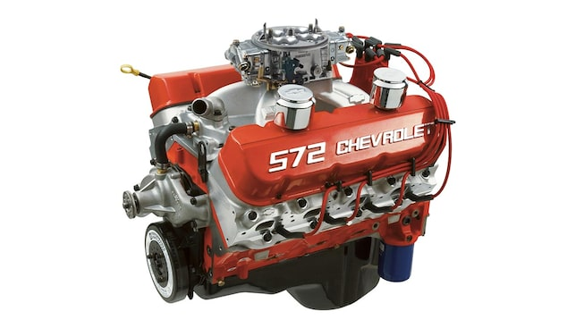 Zz 572 720r big block crate engine chevrolet performance for Gm 572 crate motor