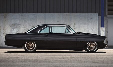 1967 Nova redefines hot rod with a modern Chevrolet Performance crate engine and transmission.